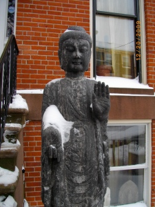 "Buddha sez: ""Hey, don't sweat it. This too shall pass."" (I'm paraphrasing.)"